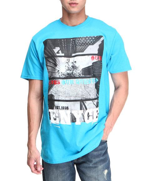 Enyce Men Blue Skyline T-Shirt