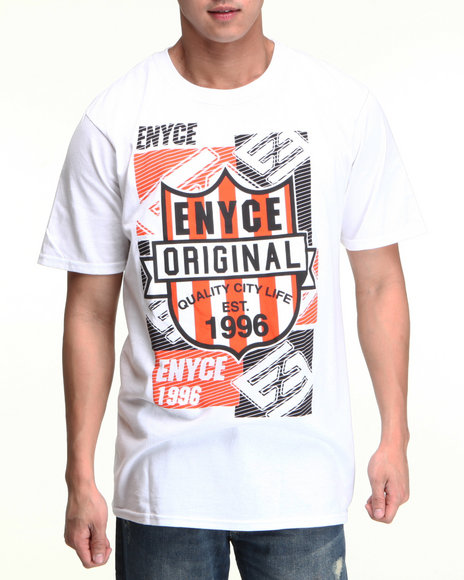Enyce Men White Good Hood T-Shirt