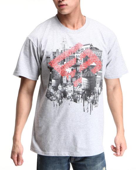 Enyce Men Light Grey New York New York T-Shirt