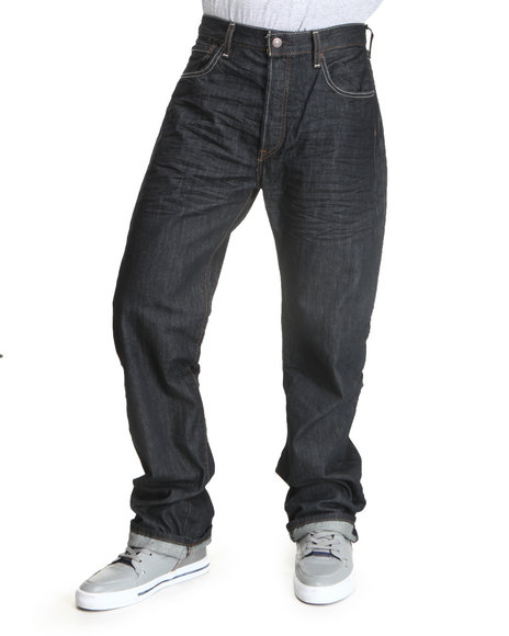 Levi's - Men Indigo 501 Original Fit Jeans
