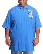 Polos - Ecko Rhino Left Chest Polo (B&T)