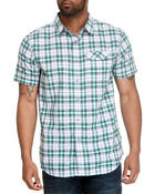 Nautica - Plaid SS Button Down