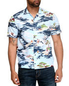 Lacoste Live - L!Ve S/S Hawaiian Print Button-down