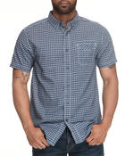 Nautica - Mini Plaid SS Button Down