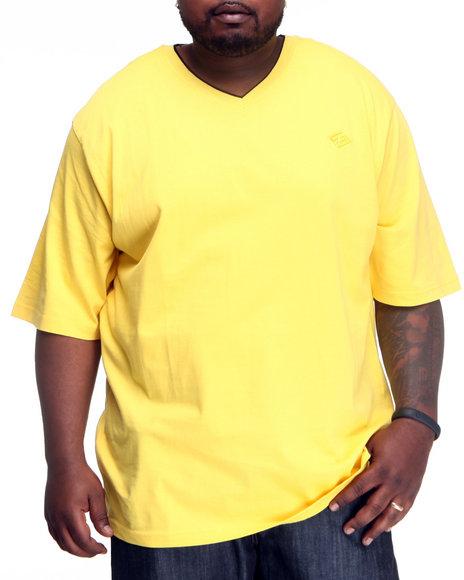 Enyce Men Yellow High Road Short Sleeve V-Neck (B&T)