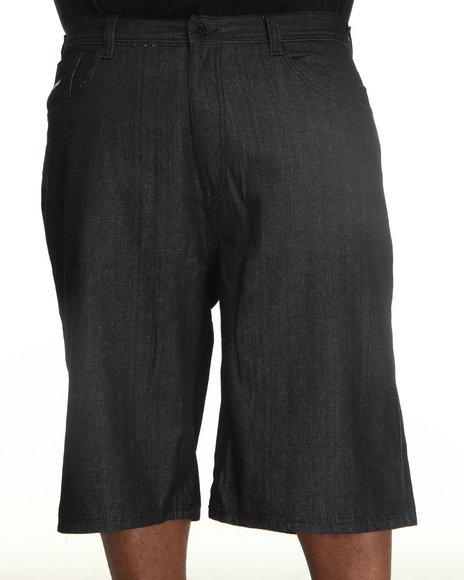 Enyce Men Black New Tradition Denim Short (B&T)
