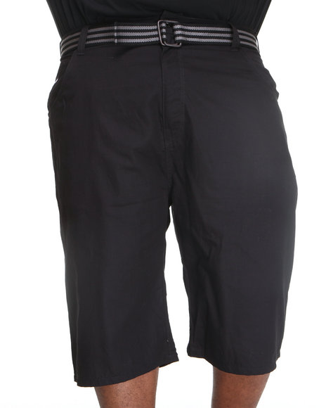Enyce Men Black Hr Rib Stop Shorts (B&T)
