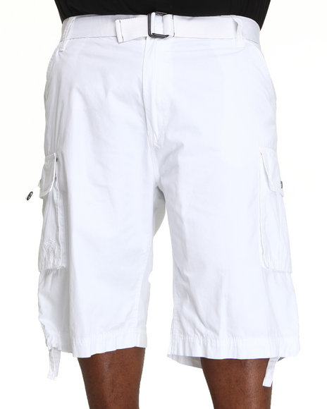 Enyce Men White Chameleon Short (B&T)