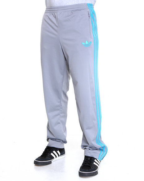 Adidas Grey Adi Firebird Track Pants