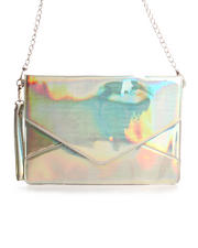 Handbags - Janelle Iridescent Envelope Bag