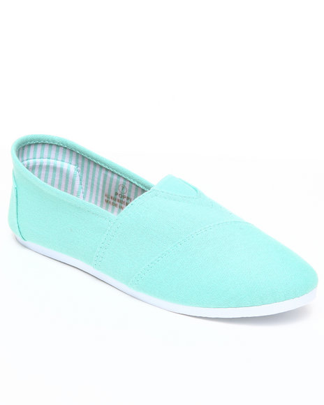 Apple Bottoms Women Green Poppi Casual Canvas Sneaker