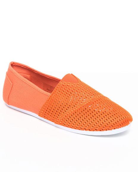 Apple Bottoms Women Orange Pacifica Mesh Casual Sneaker