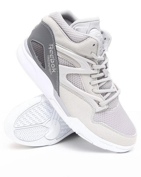 Reebok Men Grey Reebok Pump Omni Lite Sneakers