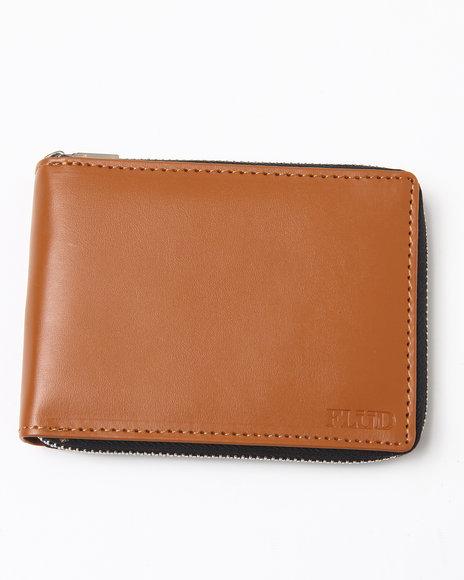 Flud Watches Men Flud Zip Wallet Black 1SZ