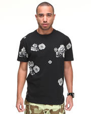 -FEATURES- - Nightwork Ghost Rose Printed Tee