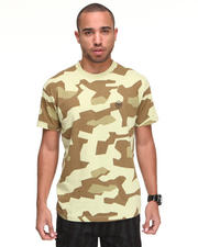 Shirts - Nightwork Geo Camo Printed Tee