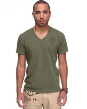 Shirts - Raw Cargo Clubs V-Neck  S/S Tee
