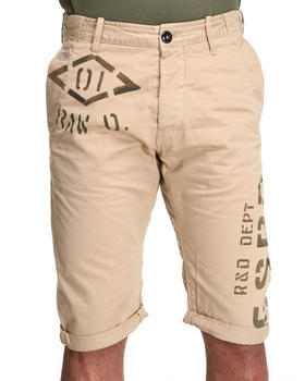 G-STAR - 3D Loose Tapered Embroidered Chino Short