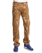 True Religion - Ricky Straight Leg Flap Back Pckt - Tie Dye Twill Pant