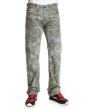 Men - Ricky Straight Leg Flap Back Pckt - Tie Dye Twill Pant