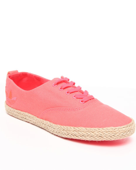 Adidas Women Pink,Red Azurine Lo Espardrille W Sneakers