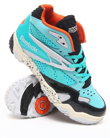 Reebok - Men Teal Scrimmage Mid Sneakers
