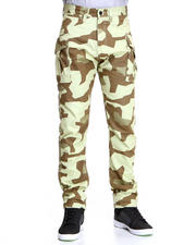 10.Deep - High Post Geo Camo Cargo Pant