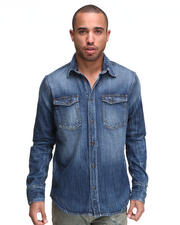 Nudie Jeans - Gunnar Organic Heavy Worn L/S Button-down