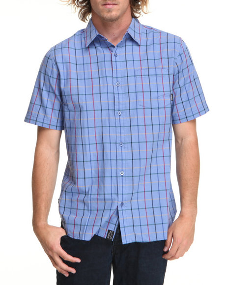 Fourstar Blue Mariano Signature S/S Button-Down