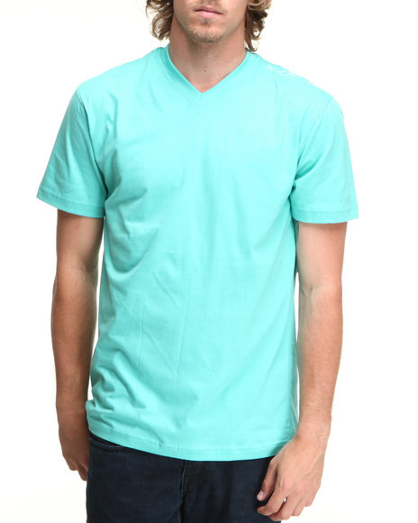 Rocawear Teal Basic V-Neck S/S Tee