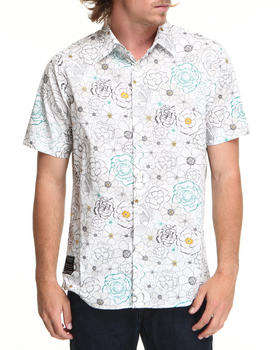 Rocawear - Floral Print S/S Button-down