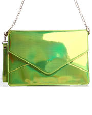 DJP Boutique - Janelle Iridescent Envelope Bag