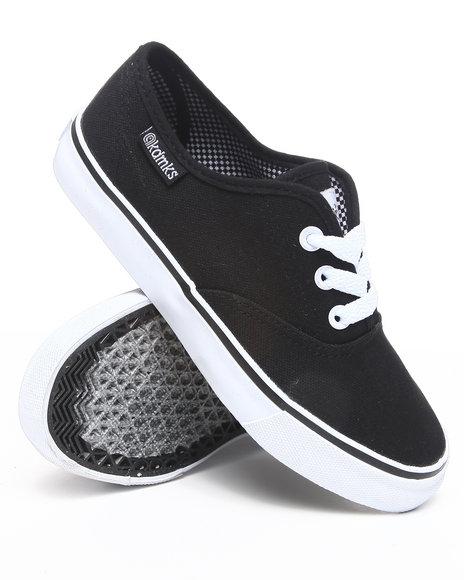Akademiks Boys Black Canvas Sneaker (3.5-7)