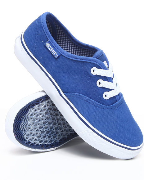 Akademiks Boys Blue Canvas Sneaker (3.5-7)