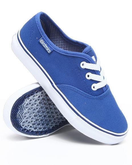 Akademiks Boys Blue Canvas Sneaker (11-3)