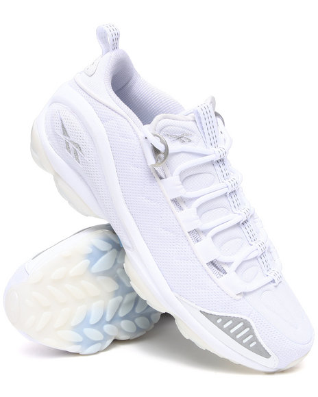Reebok Men White Dmx Run 10 Ice Bottom Sneakers