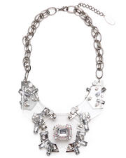 Adia Kibur - LUCITE TRON STATEMENT NECKLACE