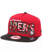 Men - San Francisco 49ers Team Tribal A-Frame strapback hat