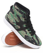 Men - Hupper Canvas/Leather Tiger Camo Sneakers