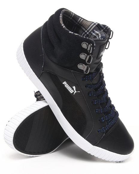 Puma Men Black Street Jump Winterized Sneakers