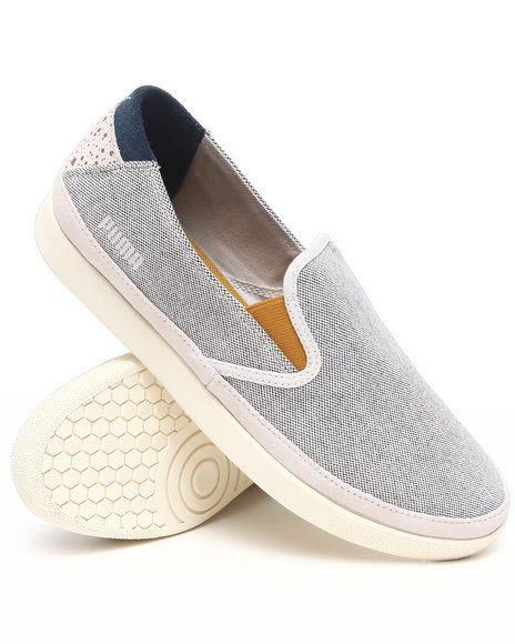 Puma - Men Grey Ansbach Slip On Sneakers