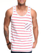 Men - Pocket contrast Tank Top