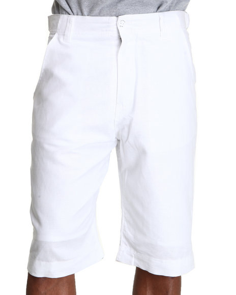 Rocawear Men White Break Into Spring Shorts
