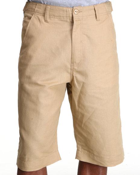 Rocawear Men Khaki Break Into Spring Shorts