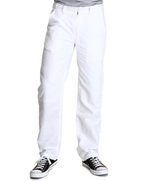 Rocawear Men White Break Into Spring Pants