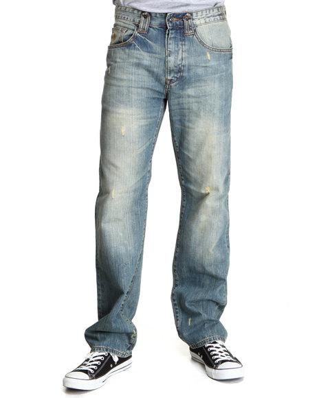 Rocawear Men Medium Wash Hurricane Classic Fit Jeans