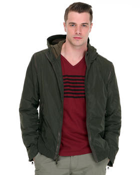 John Varvatos U.S.A. - Hooded Jackets w/ Nylon Tape Detail