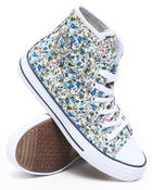 Women - Blueberry Floral Sneaker