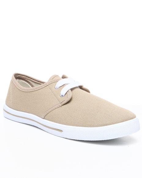 Apple Bottoms Women Tan Laveda Casual Canvas Sneaker