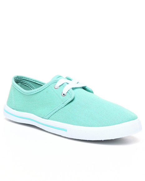 Apple Bottoms Women Green Laveda Casual Canvas Sneaker